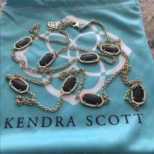 Kendra Scott Kelsie Long Station Necklace